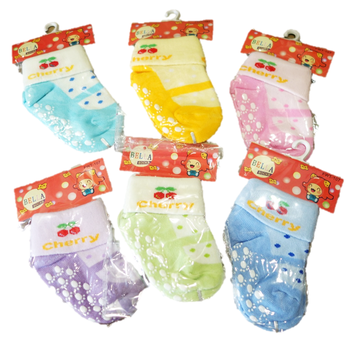 Infant_Socks_Cherry