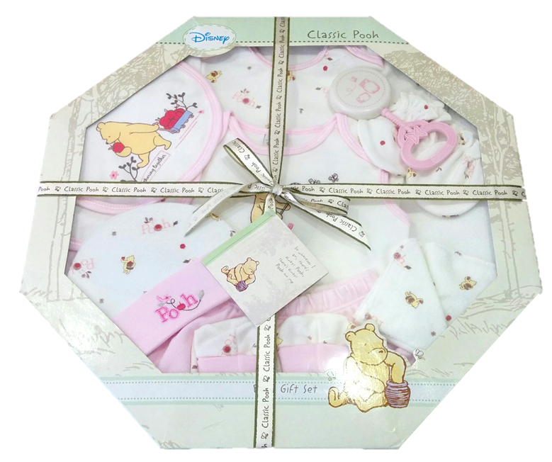 Baby Gift Sets Singapore : Pcs disney classic pooh baby gift set pink girl