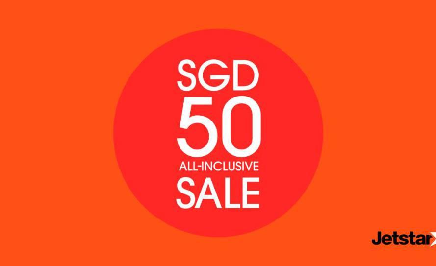 Jetstar SG50 offer